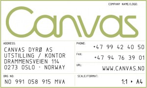 Canvas logoboks 2010