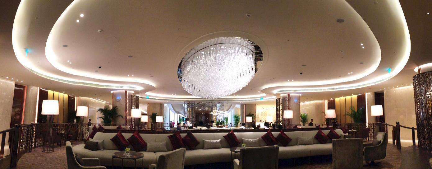 Galaxy Mariott hotel Lobby