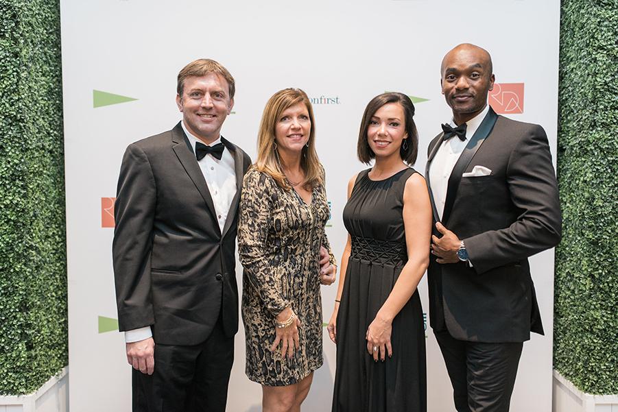 Sandy Andrew, Erika Andrew, Laura Bauer & Dom Green